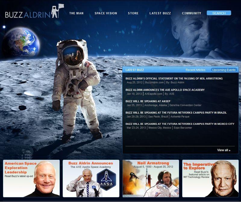 """Edwin """"Buzz"""" Aldrin 13011910"""