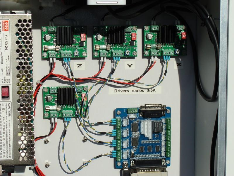 CNC-TEST avec LinuxCNC Dsc09115