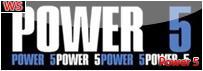 """<font color=""""blue"""">Power 5</font>"""