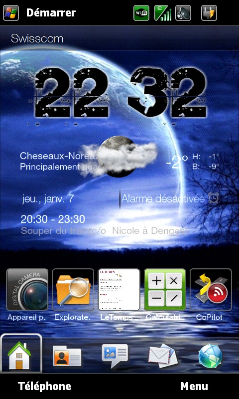 Et si on postait nos Today et nos wallpaper ici .... Screen11