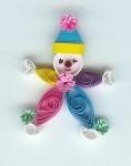 Circus clown pattern Clown10