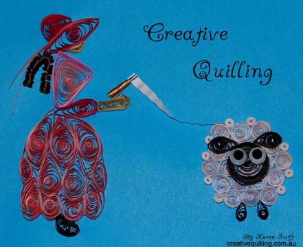 Lady quilling sheep pattern Email_10
