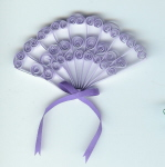 Lavender Fan pattern Fan10