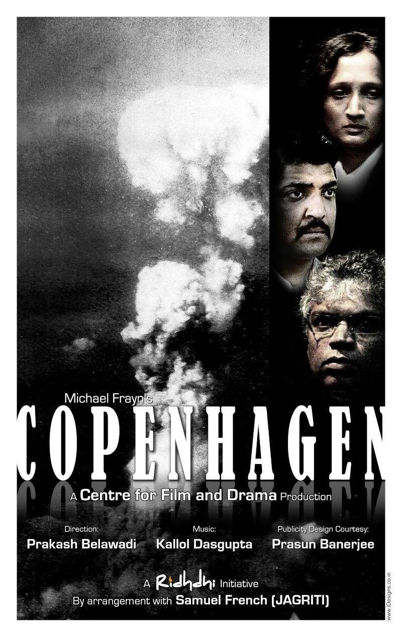 "Michael Frayn's ""Copenhagen"" on 29th Jan Poster10"
