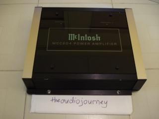 McIntosh MCC204 4x50W power amp (Used) (SOLD) Dsc00115