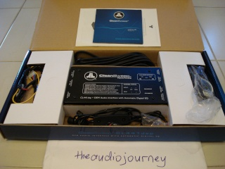 JL Audio CleanSweep CL441dsp OEM audio interface (Used) Dsc00117