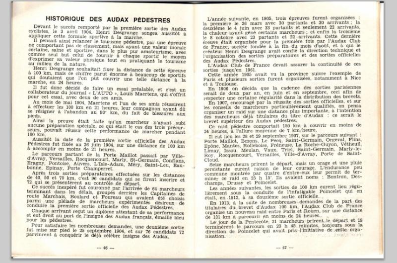 Le petit livre jaune des Audax par:  Bernard Déon  Audax_11