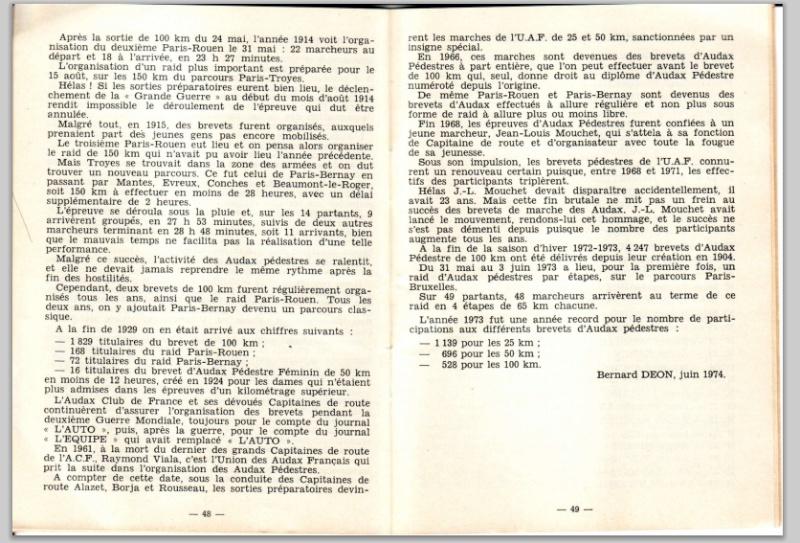 Le petit livre jaune des Audax par:  Bernard Déon  Audax_12
