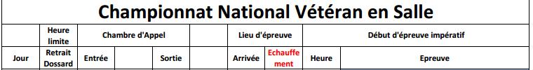 9-10 /02/ 2013:Chpts nationaux vétérans indoor à  Eaubonne Chpt_v13