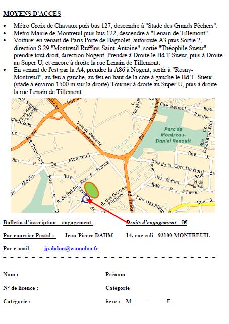 Challenge Facoetti  cht régional 20 km H et F: 24 mars 2013 Facoet11