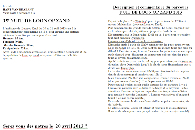 Nacht van Loon op Zand: 15h jugées ou 80km: 20-21/04/2013 Loon_o11