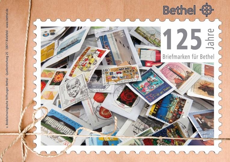 125 Jahre Briefmarken für Bethel Grossf10
