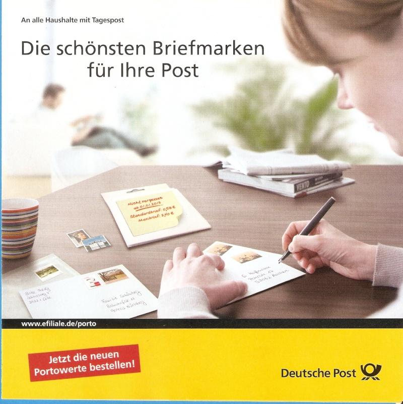 Deutsche Post: Die neuen Marken 2013 Scanne23