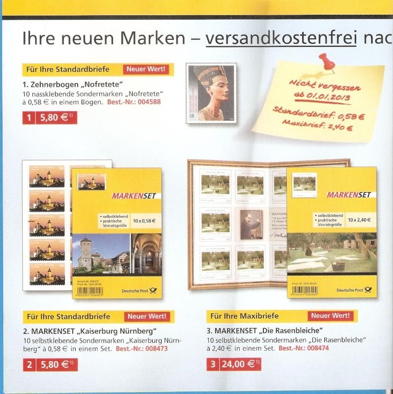 Deutsche Post: Die neuen Marken 2013 Scanne24