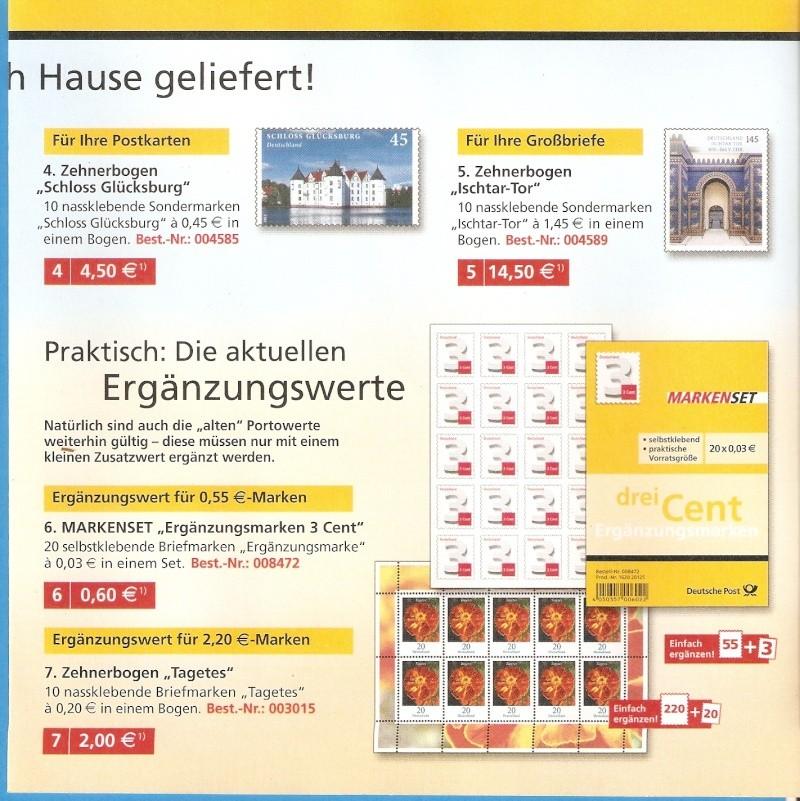 Deutsche Post: Die neuen Marken 2013 Scanne25