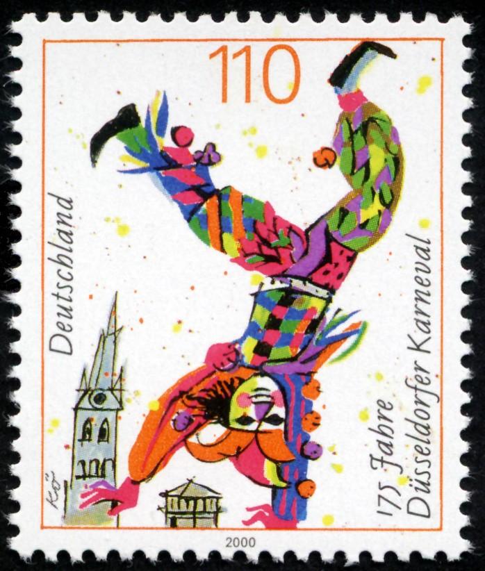 Fasching und Karneval Stamp_10