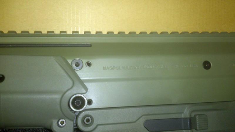 Vendo Masada ACR F.Green Magpul PTS o cambio por guitarra eléctrica media/alta Dsc_3913