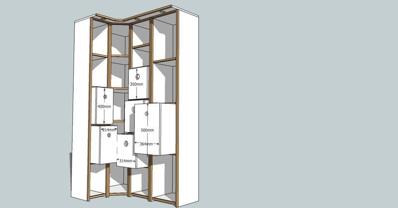 r alisation un petit dressing conomique. Black Bedroom Furniture Sets. Home Design Ideas