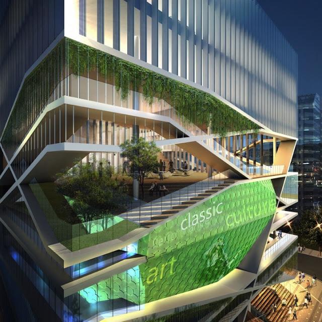 العمارة الحديثة التي تذهلنا بثوراتها كل يوم  710