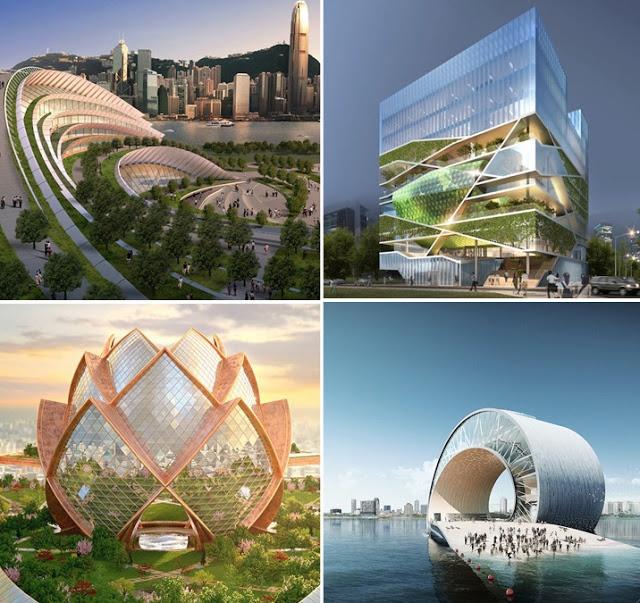 العمارة الحديثة التي تذهلنا بثوراتها كل يوم  Smartw10