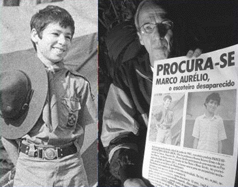O MISTERIOSO DESAPARECIMENTO DO ESCOTEIRO MARCO AURÉLIO SIMON Marcoa10