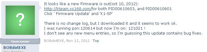 K1 GBA Forumk11