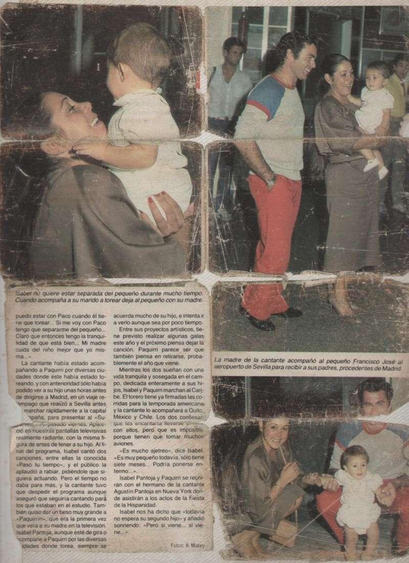 Una vuelta de permiso accidentada. Con Paquirri y la Pantoja. 1984-910