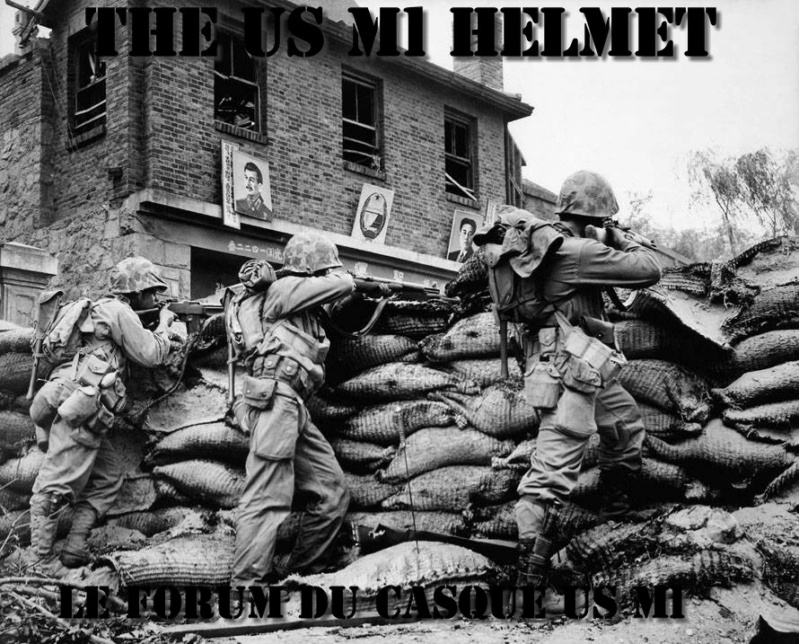 The US M1 Helmet Korean11