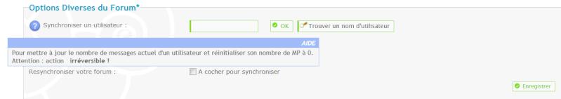 Messages supprimés mais nombre de messages toujours affiché Synchr10