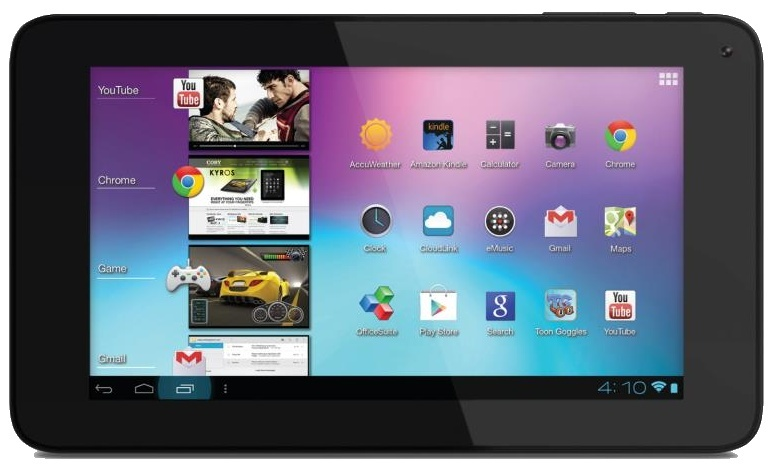 """COBY's Kyros Dual Core 1.2GHz on MID7065-8  7"""" with Google Play Store Mid70610"""
