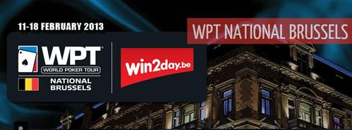 WPT Nationnal Brussels - les qualifs LIVE 10