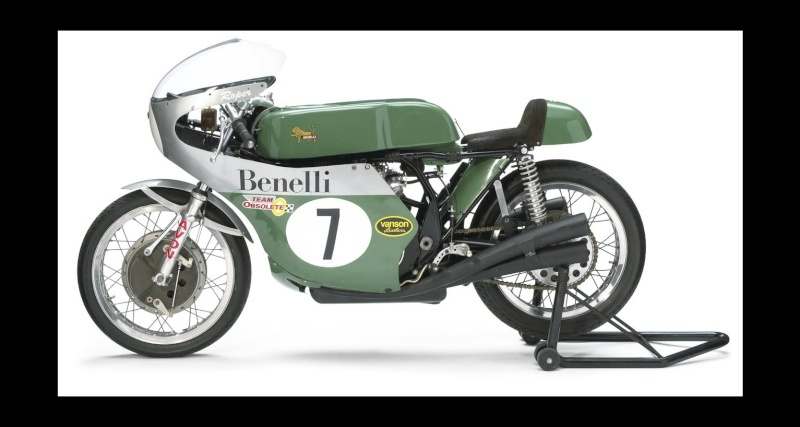 Bonhams The Grand Palais Motorcycles:  Ex-Team Obsolete,Re-creation of a 1969 Benelli 350cc Grand Prix Racing Motorcycle Frame no. 008 Engine no. N.6  Canvas10