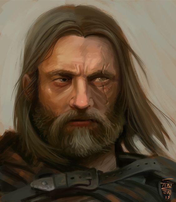Runarg Boltim, le chef du village du bois de cerf A1514410