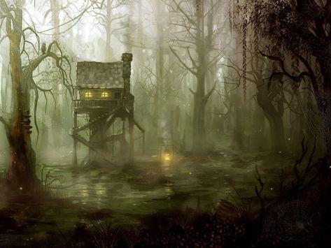 La cabane de l'érudit de la forêt de la bravoure Cabane10