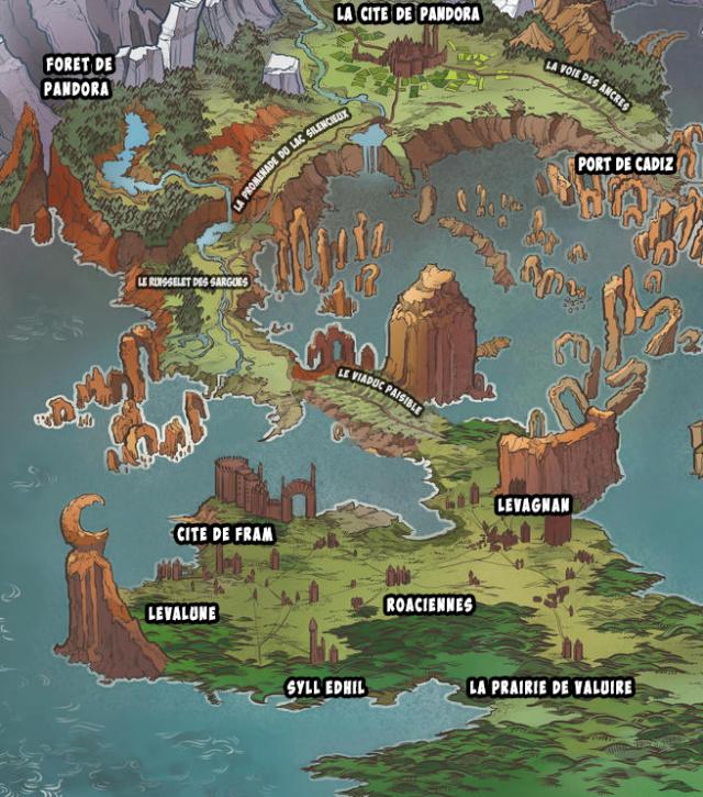 Carte du royaume de Pandora Carte_10