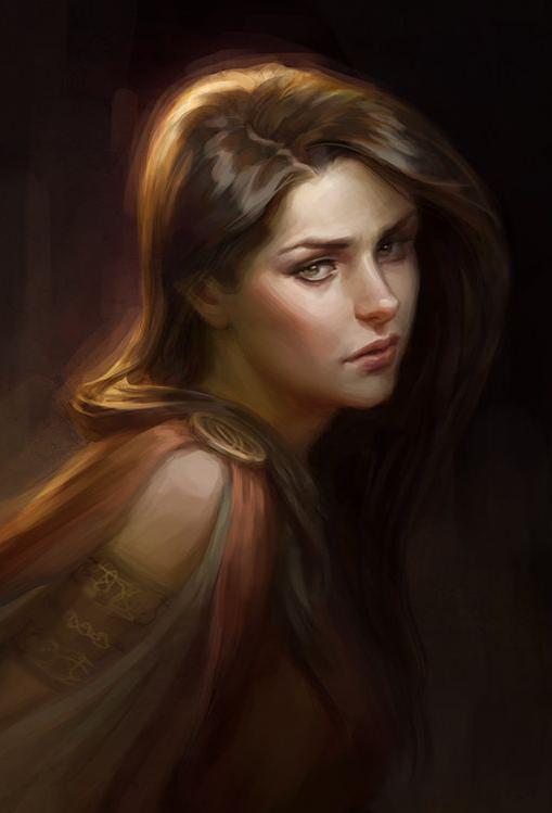 Clardis Hallewell, fille de Gaeron (DÉCÉDÉE) Clardi10