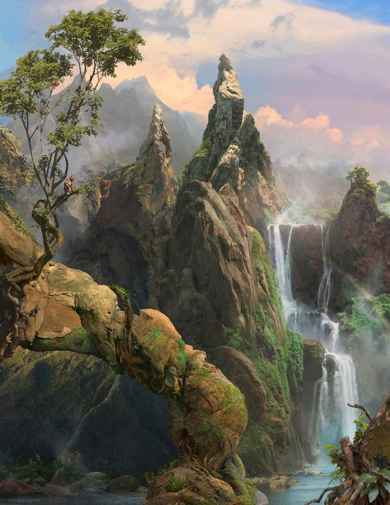 Le rocher des croyants du tertre d'Harnon Le_roc10