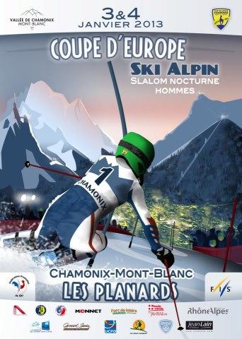Ski de compétition dans la vallée 12310