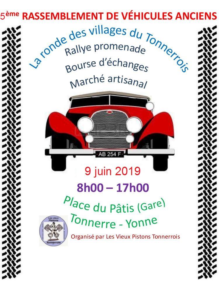 5ème Ronde des Villages du Tonnerrois. 0e5e2a10