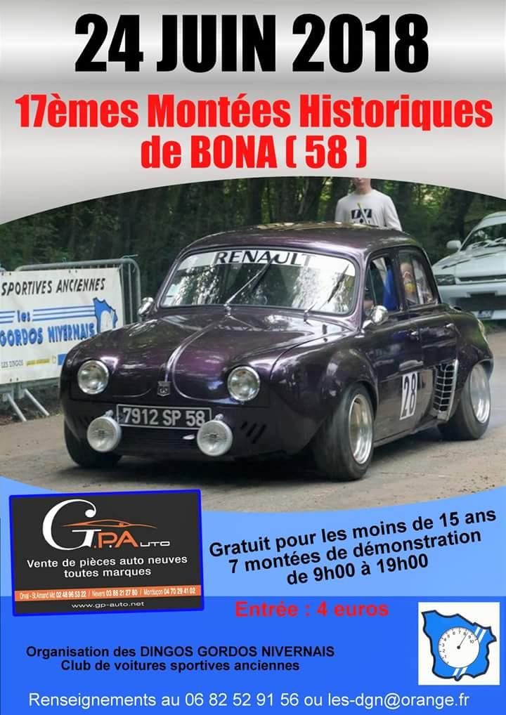 17èmes Montées Historiques de Bona (58). 2018mo10