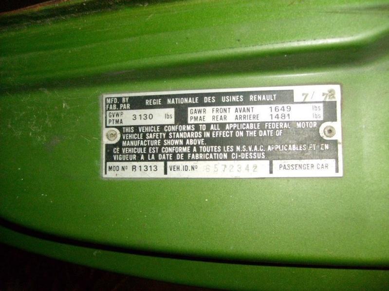 A vendre R17 TS (R1313) Canada 3116