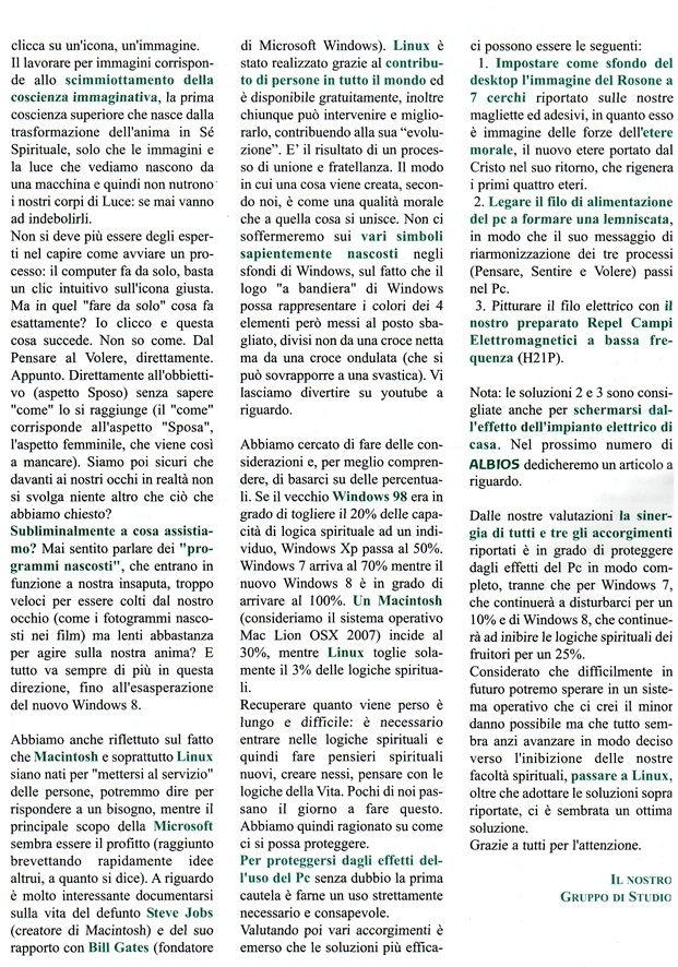 Effetti dell'uso del computer sulgli esseri  umani - Enzo Nastati Pc310