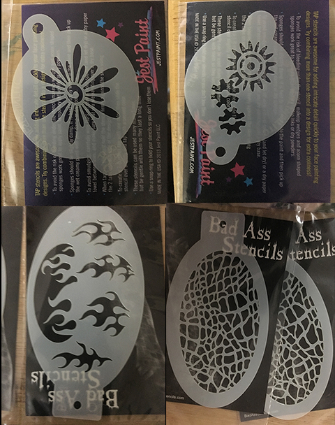 Trade or purchase Stencils 2018-s10