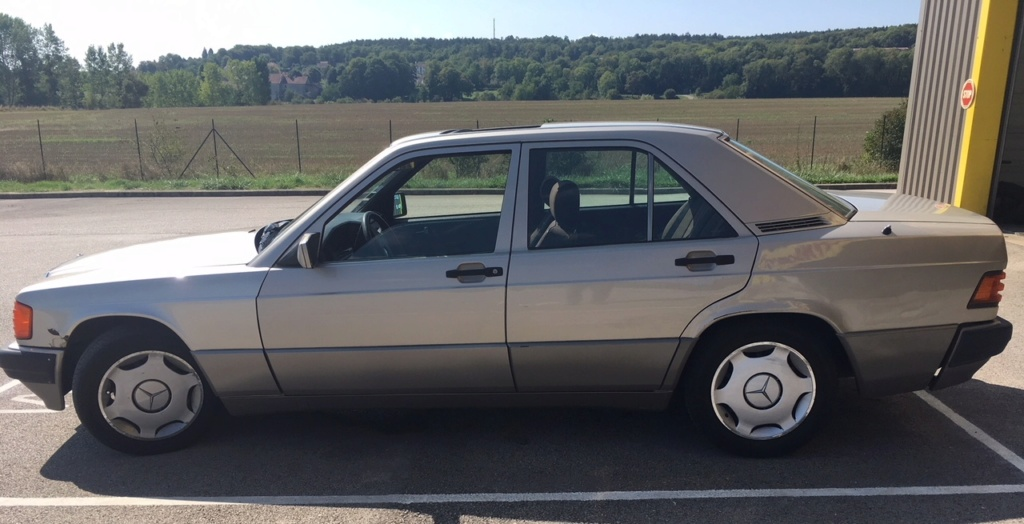 Mercedes 190D 2.5 (w201) Annonc19