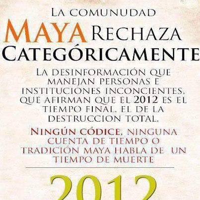 Les Mayas n'ont jamais prophétisé la fin du monde le 21 décembre 2012 39716010