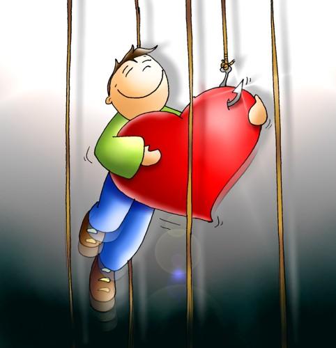 Se laisser prendre dans les filets de l'Amour divin Peche310
