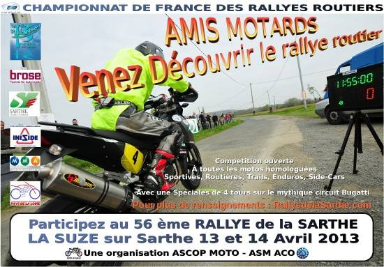 Rallye de la sarthe 13 & 14 avril 2013  Preaff11