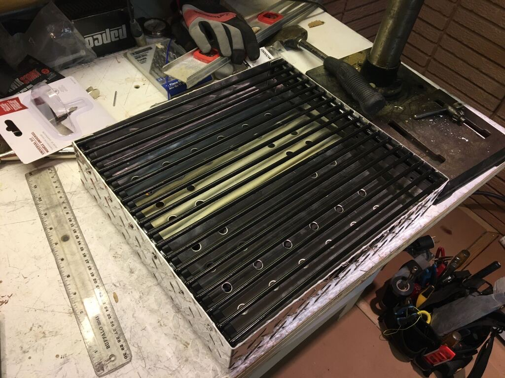 Poêle de camping rétractable - Popup bumper camping stove *** Project completed *** 60284d10