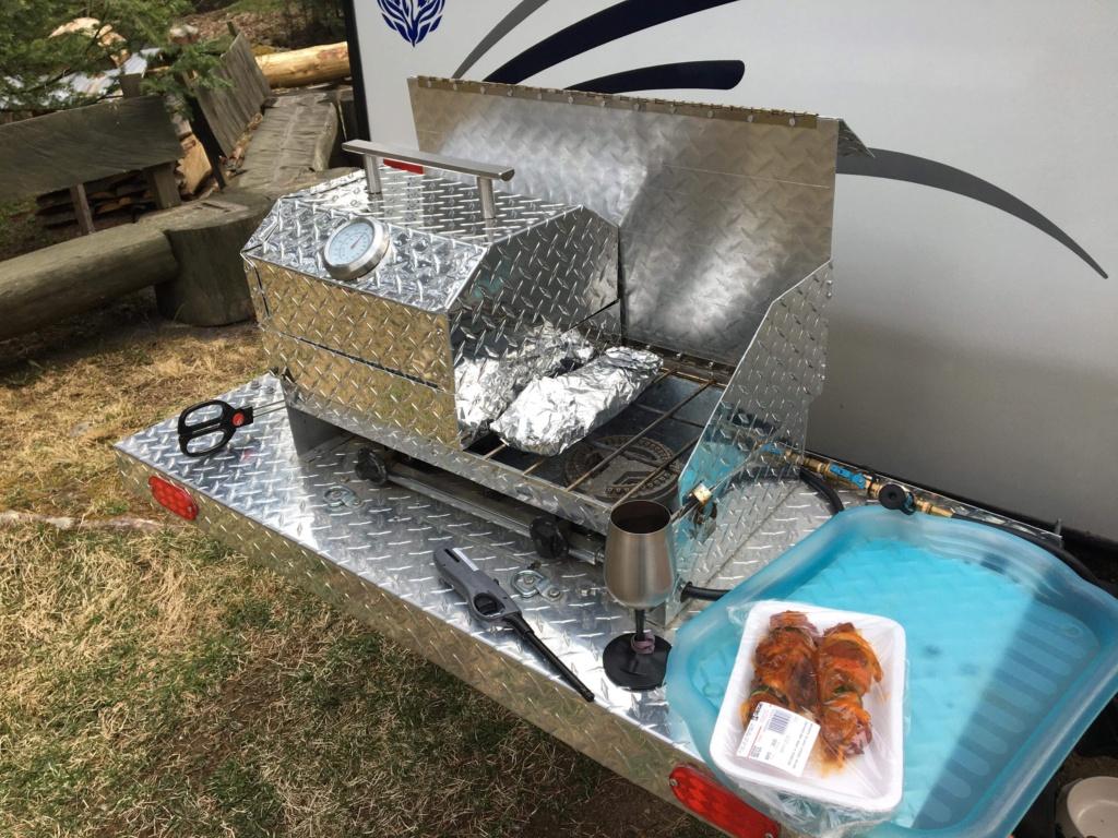 Poêle de camping rétractable - Popup bumper camping stove *** Project completed *** 6ab72e10