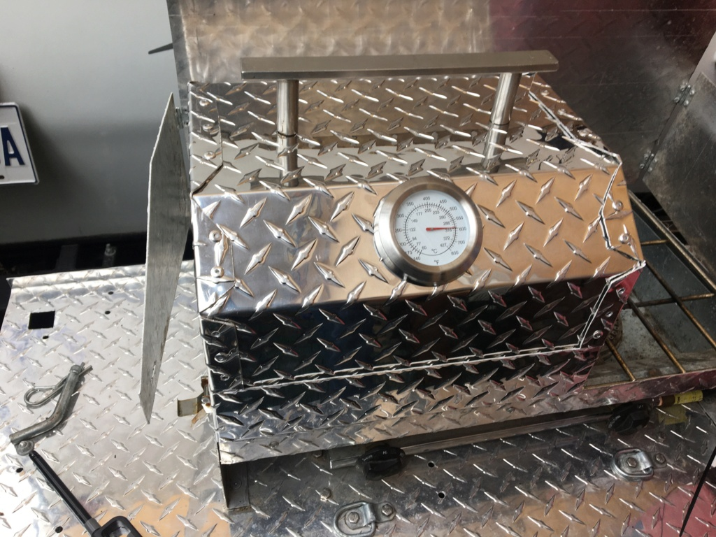 Poêle de camping rétractable - Popup bumper camping stove *** Project completed *** 89adc310